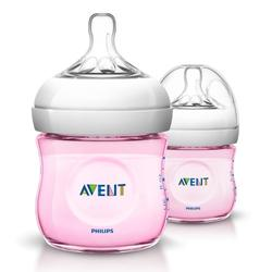 Philips Avent Natural Bottle 125ml/4oz (2pcs) - Tinted
