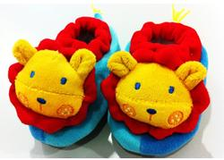 Bumble Bee Animal Rattle Booties